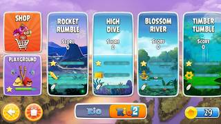 Angry Birds Rio - Episode1 - Android walkthrough