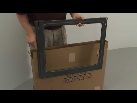 Inner Door Liner - Kitchenaid Electric Slide-In Range Model #KSEB900ESS2