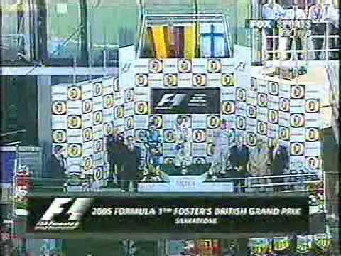F1 - Gran Premio Gran Bretaña Silverstone 2005, Victoria Juan Pablo Montoya