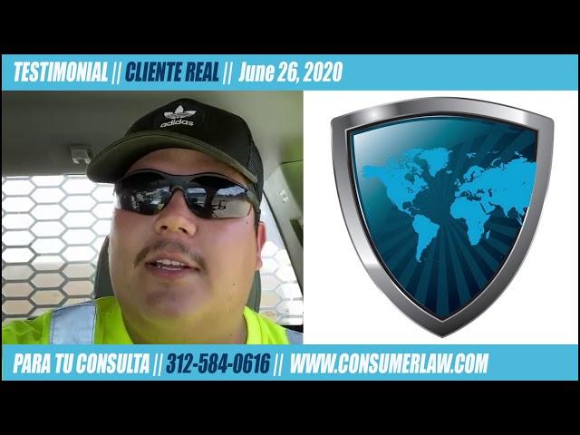 Cliente Real (6/25/20): Inicia Caso de Herida Personal Durante Cuarentena