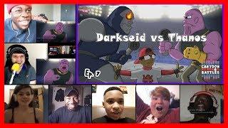 Darkseid Vs Thanos - Cartoon Beatbox Battles REACTIONS MASHUP