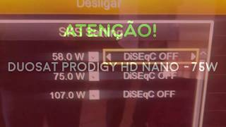 Duosat Prodigy HD Nano -CCM- 75W