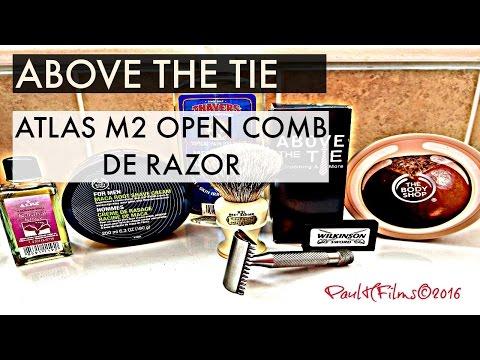 Above The Tie - Atlas M2 - Open Comb DE Razor
