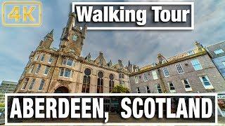 City Walks - Aberdeen Scotland Walking Tour - Virtual walk and Walking Treadmill Video