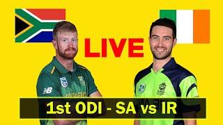 South Africa vs Ireland 1st ODI Live Streaming – SA vs IR 2021 Live Cricket Match Today