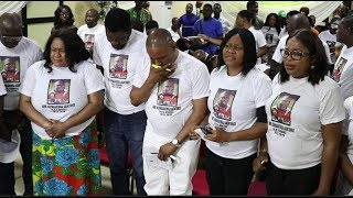 Emotional Moment From Actor Burger Funeral As Saheed BalogunKemi Afolabi Give Their Lives To Christ