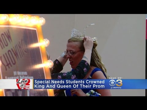 Love It: Special Needs Students Crowned King and Queen Of Their Prom