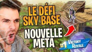 """ASTUCE 🔥ON """"TENTE"""" LE DÉFI SKYBASE, COMMENT FAIRE SANS MOURIR DE CHÛTE! ► Fortnite Saison 5"""