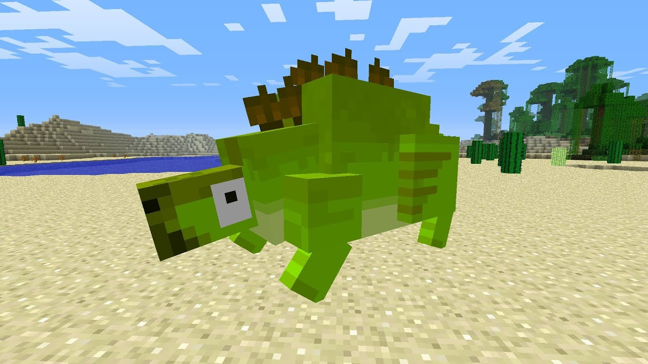 how to get dinosaurs on minecraft