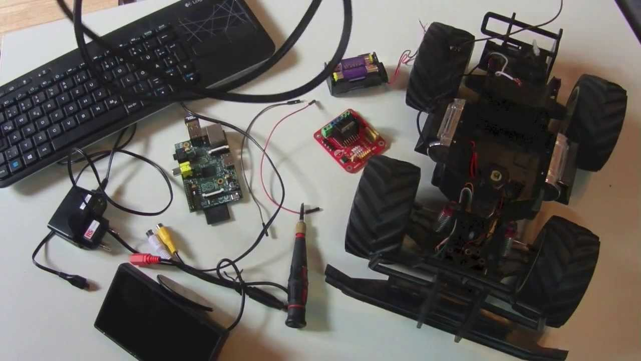 Raspberry Pi Tutorial Motor Kontrollieren Deutsch Youtube