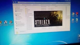 видео STALKER Тень Чернобыля . Черный экран при запуске. Вне диапазона Решение проблемы