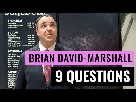 Nine Questions: Brian David-Marshall - A Magic: The Gathering Interview