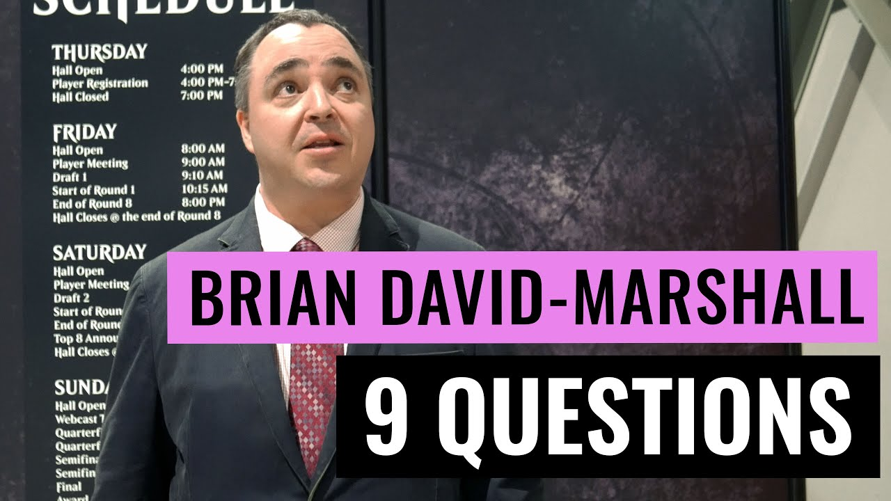 nine questions brian david marshall a magic the gathering nine questions brian david marshall a magic the gathering interview