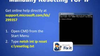 Troubleshooting Networking Issues in Windows 7