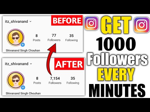How to Increase INSTAGRAM Followers (2019)| 500 Followers In 2 Minut With  Proof | Technical Booster