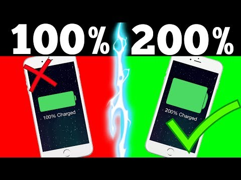 Thumbnail: TRICK TO DOUBLE YOUR PHONES BATTERY LIFE (IT ACTUALLY WORKS!)