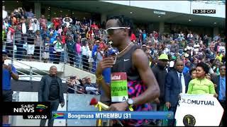 Bongumusa Mthembu, Ann Ashworth win the 2018 Comrades Marathon