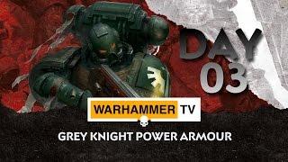 Grey Knight Power Armour - Advent Calendar Day 3