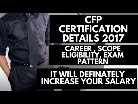 CFP CERTIFICATION | CFP CERTIFICATION COMPLETE DETAIL | CFP FEE | CFP Course Detail