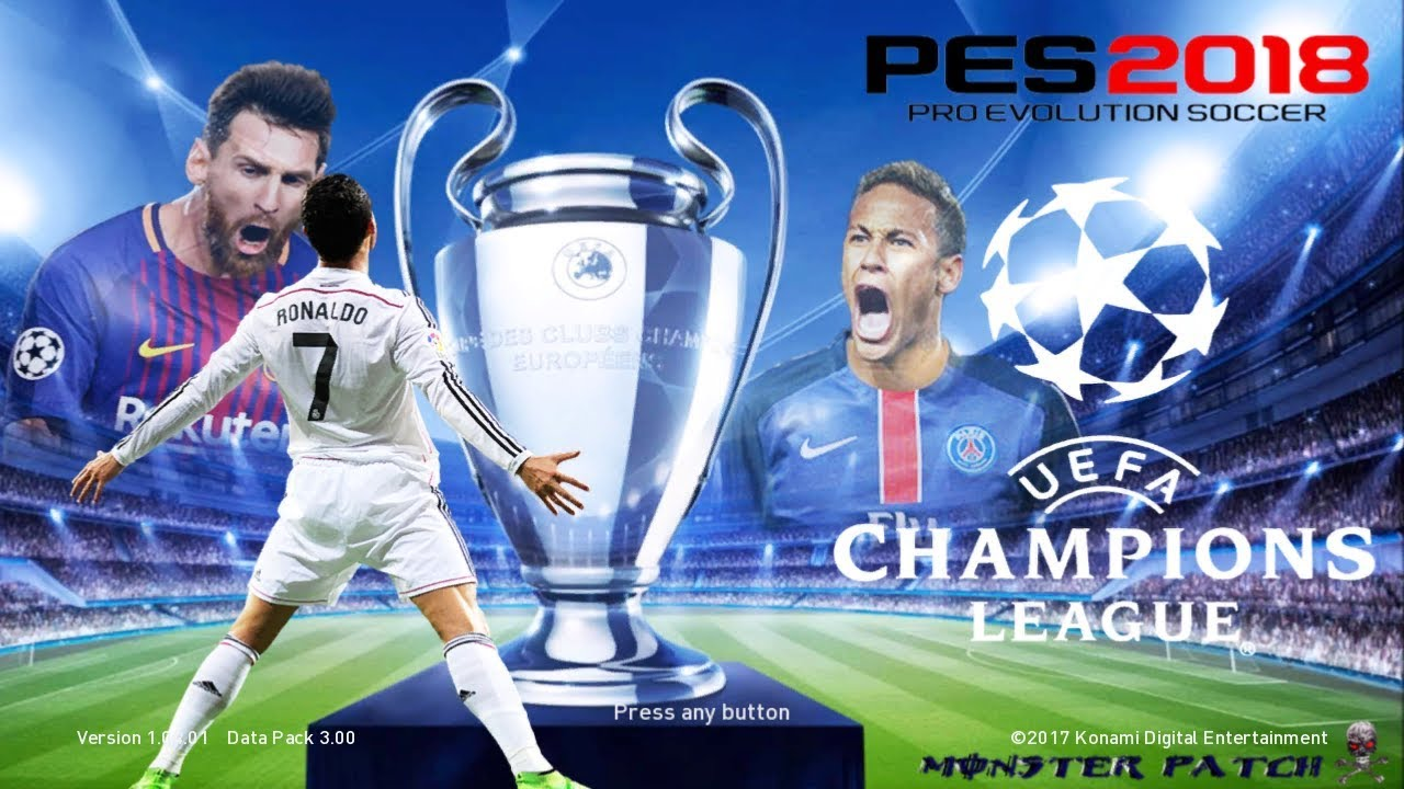 PES 2018 PS3 Full License Monster Patch All In One v3 — PES Club