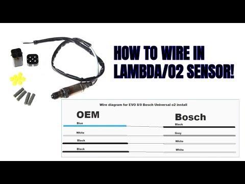 [SCHEMATICS_4JK]  Universal Subaru/Evo Lambda Sensor Install (BOSCH) - YouTube | Bosch Sensor Wiring Diagram |  | YouTube