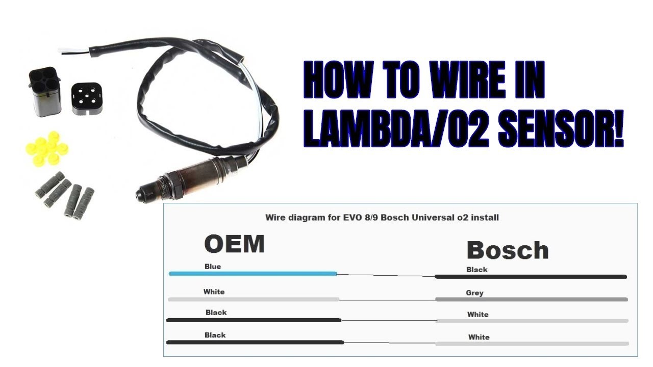Universal Subaru/Evo Lambda Sensor Install (BOSCH) - YouTubeYouTube