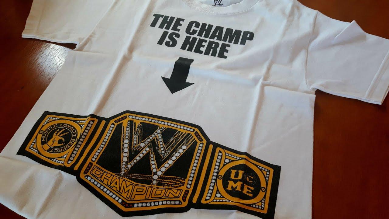 2ba4dba5 Review camiseta WWE JOHN CENA