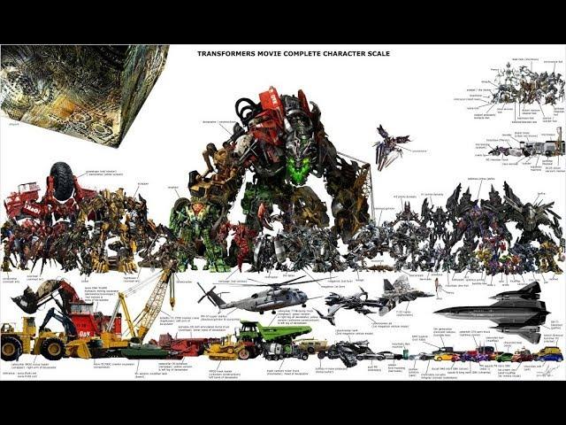 Epic Modding Transformers Size Comparison Optimus Prime Bonecrusher Brawl Long Haul Warpath