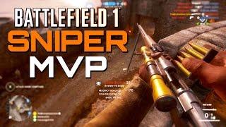 Battlefield 1: Sniper MVP - 60 Kills - Operations Mode (PS4 Gameplay)