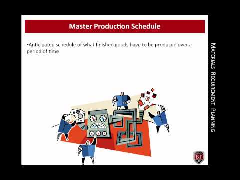 Materials Requirement Planning | CSCMS