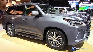 Video 2018 Lexus LX 570 - Exterior and Interior Walkaround - 2018 Detroit Auto Show download MP3, 3GP, MP4, WEBM, AVI, FLV Agustus 2018