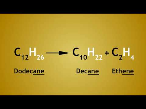 Hydrocarbon Cracking and Why It Is Done   The Chemistry Journey   The Fuse School