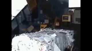 Пресс 3 тонны в час(Пресс 3 тонны в час подробности на сайте http://тбо-мусор.рф/ Прессует в тюки следующие материалы: офисная..., 2013-09-02T14:25:30.000Z)