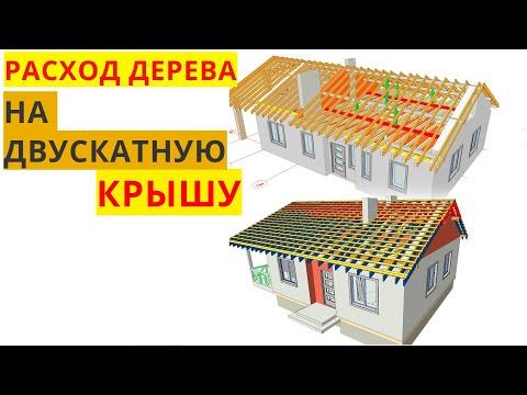 Крыша дома своими руками расчет пиломатериалов