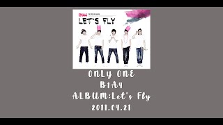 B1A4 (비원에이포) 'ONLY ONE' (Color Coded Lyrics Han/Rom/Eng/가사)