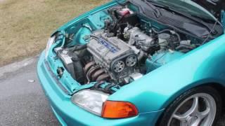 Turbo 1992 Honda Civic EG