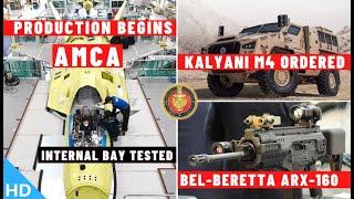 Indian Defence Updates : AMCA Parts Production,Kalyani M4 Ordered,HAL M88 Production,1000 Cr SDR-Tac
