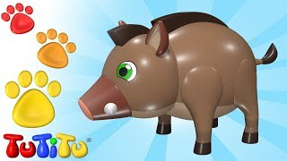 Boar and Friends | Animal Toys for Children | TuTiTu Animals