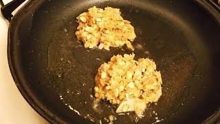 Bbq Tuna Fritters