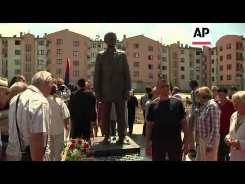 Bosnian Serbs unveil statue of man whose shooting of Arch Duke Ferdinand sparked WWI
