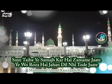 Ye Wo Roza Hai Jahan Dil Nhi Tode Jaate | Beautiful Kalam 2018 | By Muhammad Ahmad Raza Qadri Razvi