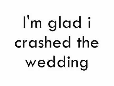 Busted - Crashed the Wedding (Lyrics)