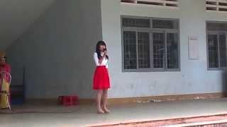 Bài thơ màu mực tím - Kim Oanh - 11A1 - THPT Lê Hồng Phong - Đắk Lắk