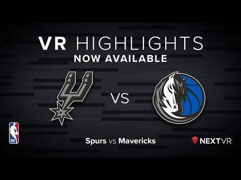 NBA in VR - Spurs vs Mavs VR Preview | NextVR