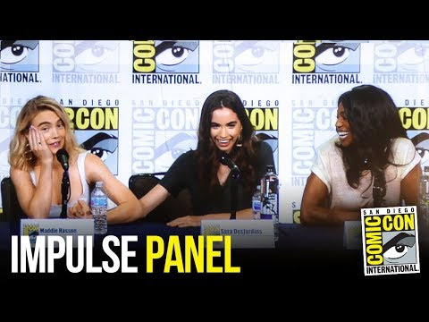 YouTube Original Series IMPULSE Full Panel at San Diego Comic Con 2018