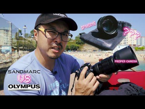 Sandmarc lenses VS Olympus Pro Lens !! - RED35 Review