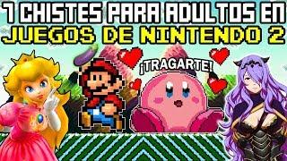 7 Chistes para ADULTOS en Videojuegos de Nintendo 100% ZUKULEMTHOS