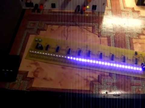 vu-metru LM339 40 LEDs final test