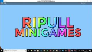 MI PRIMER VIDEO DE 2019 jugando a Ripull Minispiele (ROBLOX)