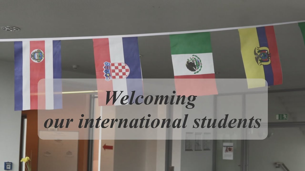 Welcoming our new international students - Hochschule Hof